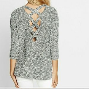 EXPRESS Crossback Sweater